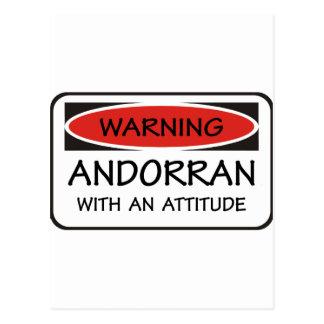 Attitude Andorran Postcard