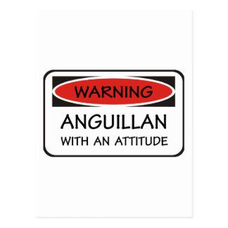 Attitude Anguillan Postcard