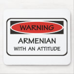 Attitude Armenian Mouse Pads