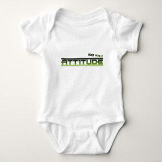 Attitude: Born With It Baby Bodysuit