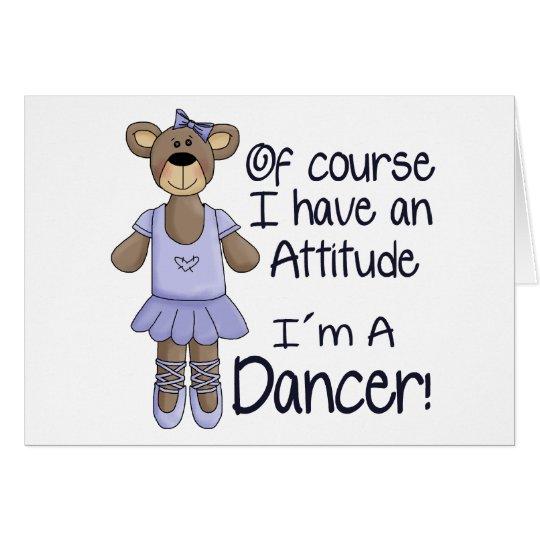 Attitude Dancer Card