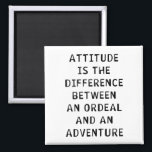 """Attitude Difference Magnet<br><div class=""""desc"""">See More at http://Label-Me-Happy.com</div>"""