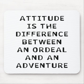 Attitude Difference Mousepads