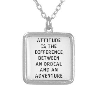 Attitude Difference Pendant
