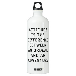 Attitude Difference Water Bottle
