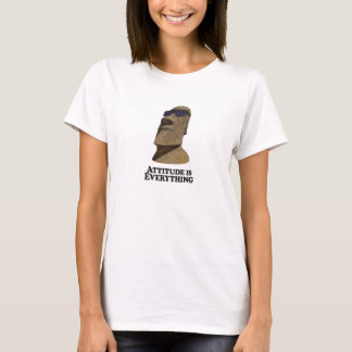 Attitude Everything Hip Moi - Woman's T-Shirt