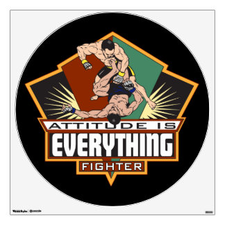 Attitude Fighter Wall Decal