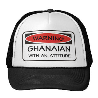 Attitude Ghanaian Trucker Hat