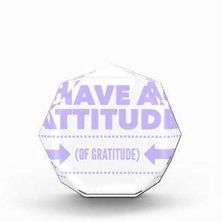 Attitude Gratitude Recovery Detox AA Award
