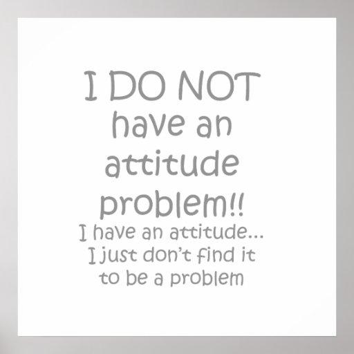 attitude gray print