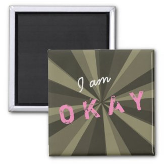 Attitude I am OKAY Light Beam on any Color