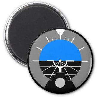 Attitude Indicator Gauge 2 Inch Round Magnet