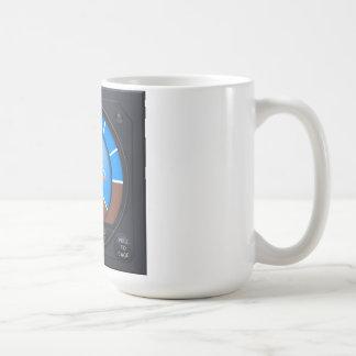 Attitude Indicator - Left Handed Coffee Mug