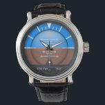 "Attitude Indicator  - level Wrist Watch<br><div class=""desc"">Watch--perfect gift for aviation fans!</div>"