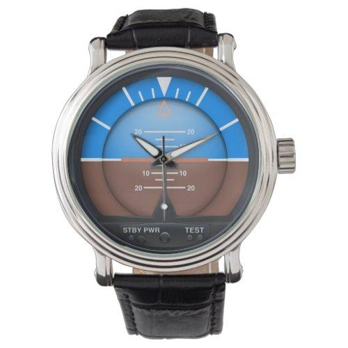 Attitude Indicator  – level Wrist Watch