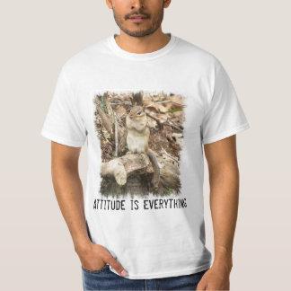 Attitude is Everything Chipmunk T-shirt