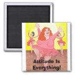 Attitude Is Everything! Fridge Magnet