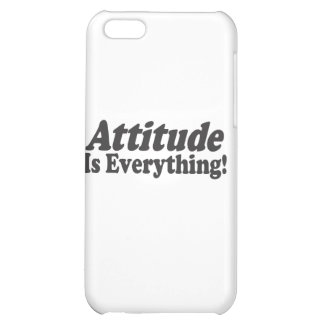 Attitude Is Everything! Case For iPhone 5C