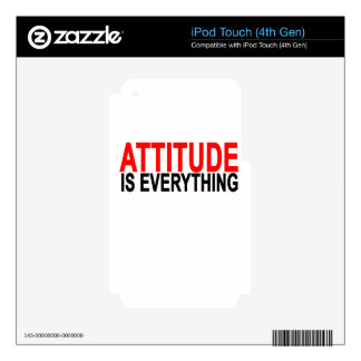 Attitude is everything.png iPod touch 4G skins