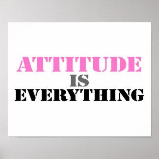 Attitude Is Everything Print