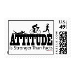 Attitude is Stronger than Facts Postage