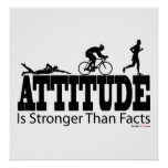 Attitude is Stronger than Facts Posters