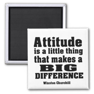 Attitude makes a big difference refrigerator magnets