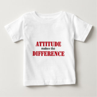 Attitude makes the difference tees