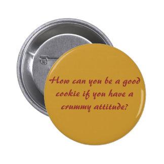 Attitude matters! button