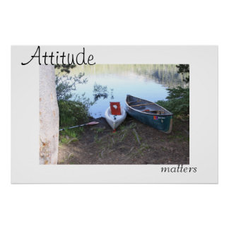 Attitude Matters Poster