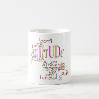 Attitude - Morphing Mug
