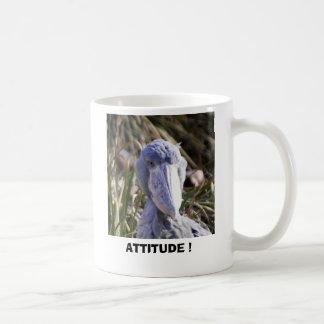 ATTITUDE ! CLASSIC WHITE COFFEE MUG