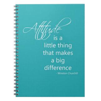 Attitude Spiral Note Book