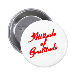 Attitude of Gradtitude 2 Inch Round Button