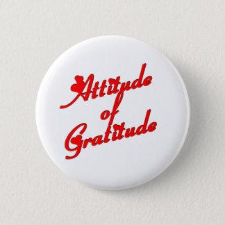 Attitude of Gradtitude Pinback Button