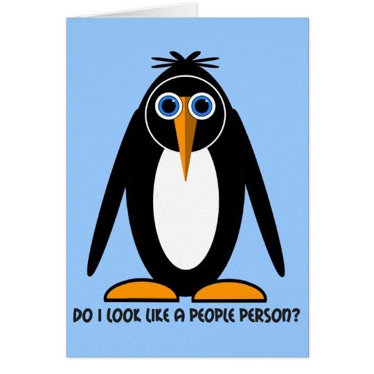 attitude penguin card