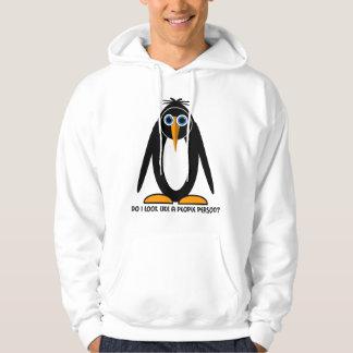 attitude penguin sweatshirt