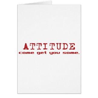 Attitude Red Card