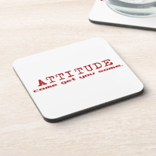 Attitude Red Coaster