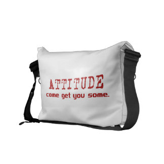 Attitude Red Courier Bags