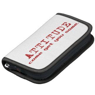 Attitude Red Folio Planner