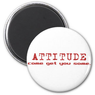 Attitude Red Magnets