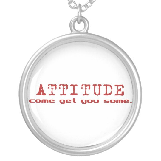 Attitude Red Necklace