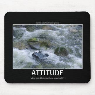 ATTITUDE River Rapids Motivational Mousepad