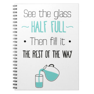 Attitude, Successs, Hsppiness, Motivational  Quote Notebook