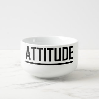 Attitude Underlined Cool Kid Shirt Hipster Mug Soup Bowl With Handle