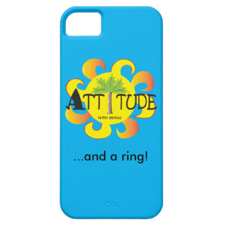 Attitude With Bling iPhone SE/5/5s Case