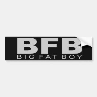 "Attitudes - ""Big Fat Boy"" Bumper Sticker"