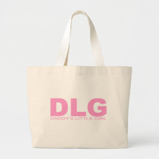 """Attitudes - """"Daddy's Little Girl"""" Large Tote Bag"""
