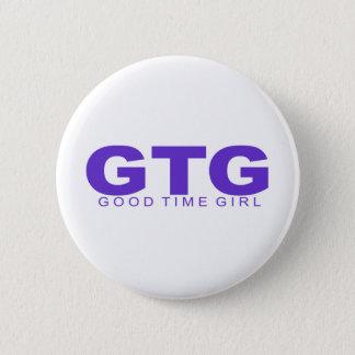 "Attitudes - ""Good Time Girl"" Pinback Button"